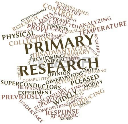 definition primary research This manuscript describes a comprehensive research project in which the teaching styles of 22 bruneian primary - and 185 secondary-school teachers were compared with the learning styles of their respective primary (n = 282) and secondary (n=755) students.