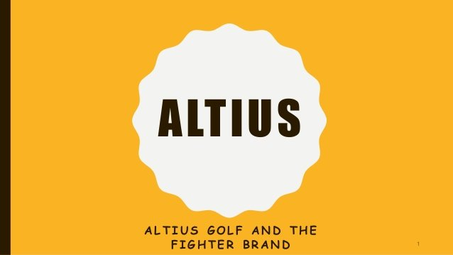 Altius Golf Case Study